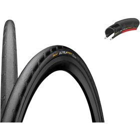 "Continental Ultra Sport II Performance Tyre 28"" folding, black/red"